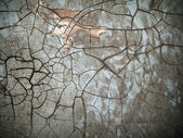Crack old grunge color — Stock Photo