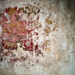 Thai traditional painting  Drawing on the church walls — ストック写真