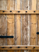 Old wood door — Stock Photo