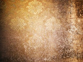 Texture of Grunge old wallpaper — Stock Photo