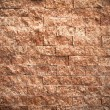 Texture of rectangle pattern red stone — Stockfoto