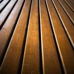 Wooden line floor — Stock Photo