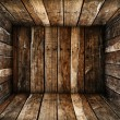 Wood box texture - Stock Photo