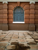 старое здание европейский стиль — Стоковое фото