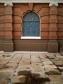 Stará budova evropský styl — Stock fotografie