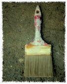 Old paint brushes — Stock Photo