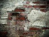 Cracks of the brick walls — Stock Photo