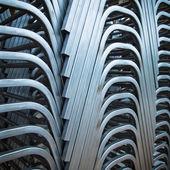 Steel Pipe bending — Stock Photo