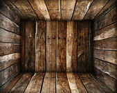 Wood box texture — Stock Photo