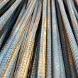 Deformed bars Steel shafts - Stock Photo