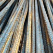 Stock Photo: Deformed bars Steel shafts