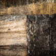 Brown grunge old wood — Stockfoto
