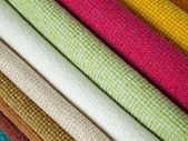 Colored cotton lining layer — Stock Photo