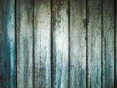 Green wood door — Stock Photo