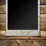 Polaroid photo frame — Stock Photo