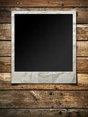 Polaroid fotoğraf çerçevesi — Stok fotoğraf