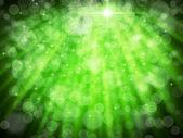 白緑のオーラのボケ味の抄録 — ストック写真