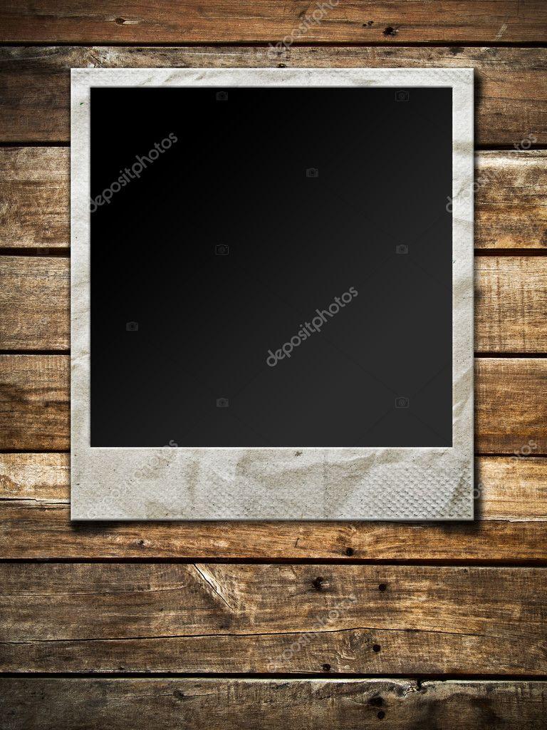 Polaroid-Foto-Rahmen — Stockfoto © nuttakit #4334336