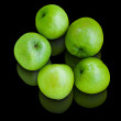 Five green Jujube — Photo