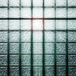 Glass block wall — Stock Photo