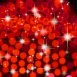 Stock Photo: Red background and bright star