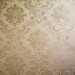 Brown tone Damask style wallpaper — Stock Photo