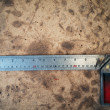 Steel Angle tool - Foto Stock