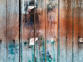 Grunge old wood door — Stock Photo