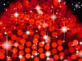 Fondo rojo y la estrella brillante — Foto de Stock