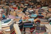 Hodně knih — Stock fotografie