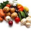 Fresh vegetables variety — Stock Photo