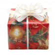 Christmas fancy box — Stock Photo