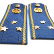 Постер, плакат: Shoilder strap of Ukrainian senior lieutenant sky force