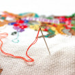 Stock Photo: Needlework