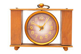 Old rarity alarm clock — Stock Photo