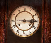Antique clock — 图库照片