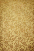 Golden pattern on wallpaper. Ideally as background — Stock Photo