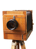 Old rarity photographic camera — Stock Photo