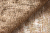 Ecological material: sackcloth. Ideally as background — Foto de Stock