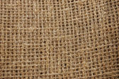 Ecological material: sackcloth — Stock Photo