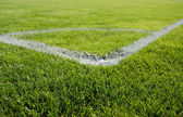 Place for corner kick — Stock Photo