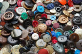 Vintage clothes buttons — Stock Photo