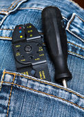 Tools in the pocket — Stock Photo