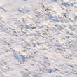 The texture of the snow — Stock Photo