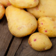 Stock Photo: Potatoes close-up