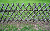 Wooden fence — Photo