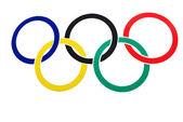 Olympic symbol — Stock Photo