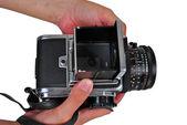 6X6 format camera — Stock Photo