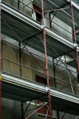 Metal scaffolding — Photo