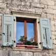 Wooden window — Stock Photo #4311508
